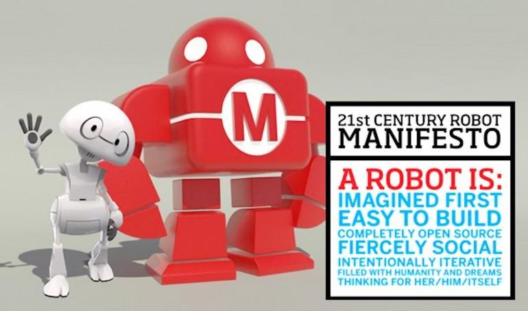 intel-futurist-robot-3d-printing-open-source-maker-faire.jpg